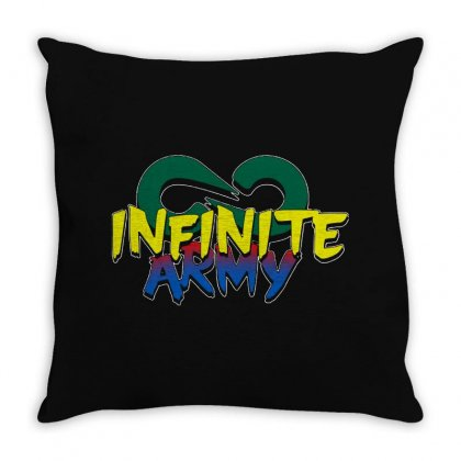 Infinite Lists Merch Infinite Lists Infinite Army Garnet Throw Pillow Designed By Meganphoebe