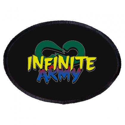 Infinite Lists Merch Infinite Lists Infinite Army Garnet Oval Patch Designed By Meganphoebe