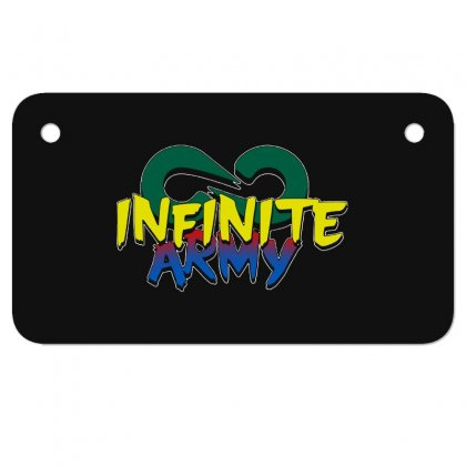 Infinite Lists Merch Infinite Lists Infinite Army Garnet Motorcycle License Plate Designed By Meganphoebe