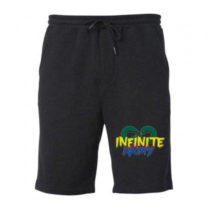Infinite Lists Merch Infinite Lists Infinite Army Garnet Fleece Short Designed By Meganphoebe