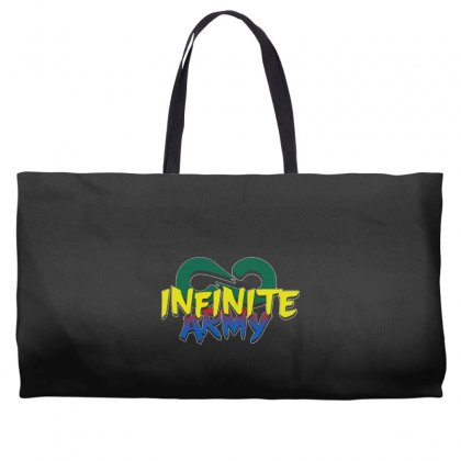 Infinite Lists Merch Infinite Lists Infinite Army Garnet Weekender Totes Designed By Meganphoebe