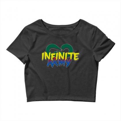 Infinite Lists Merch Infinite Lists Infinite Army Garnet Crop Top Designed By Meganphoebe