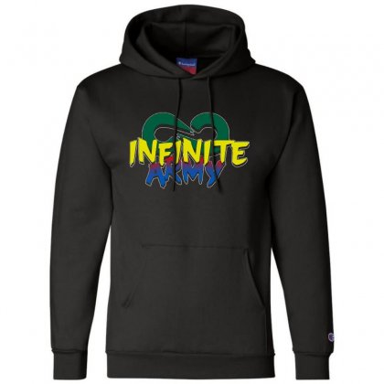 Infinite Lists Merch Infinite Lists Infinite Army Garnet Champion Hoodie Designed By Meganphoebe
