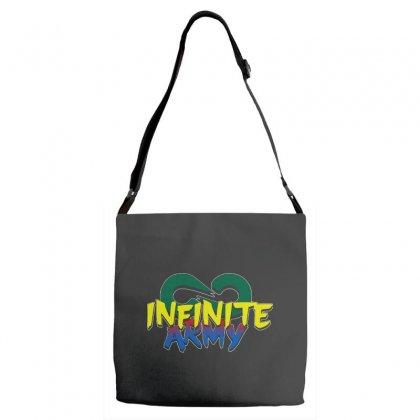 Infinite Lists Merch Infinite Lists Infinite Army Garnet Adjustable Strap Totes Designed By Meganphoebe