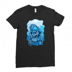 pirate guarding treasure cest Ladies Fitted T-Shirt | Artistshot