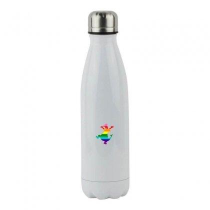 Imagine Pride Stainless Steel Water Bottle Designed By Meganphoebe