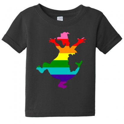 Imagine Pride Baby Tee Designed By Meganphoebe