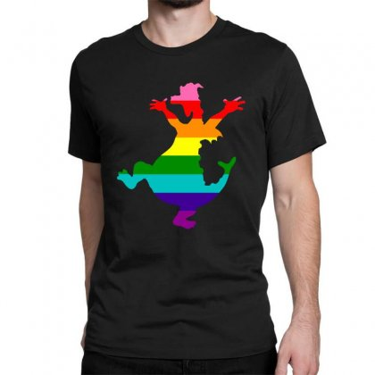 Imagine Pride Classic T-shirt Designed By Meganphoebe