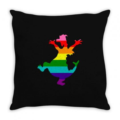 Imagine Pride Throw Pillow Designed By Meganphoebe