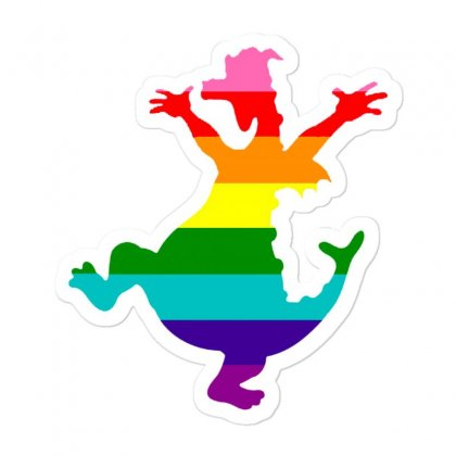 Imagine Pride Sticker Designed By Meganphoebe