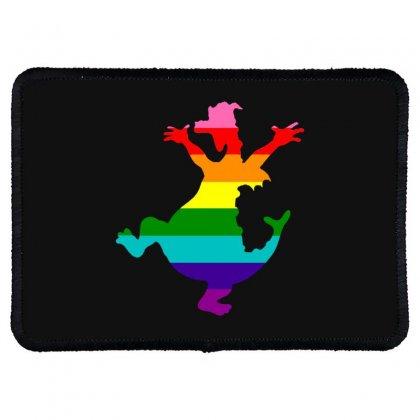 Imagine Pride Rectangle Patch Designed By Meganphoebe