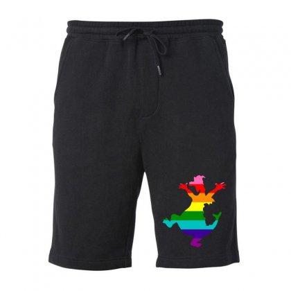 Imagine Pride Fleece Short Designed By Meganphoebe