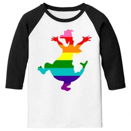Imagine Pride Youth 3/4 Sleeve Designed By Meganphoebe