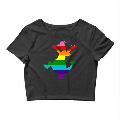 Imagine Pride Crop Top Designed By Meganphoebe