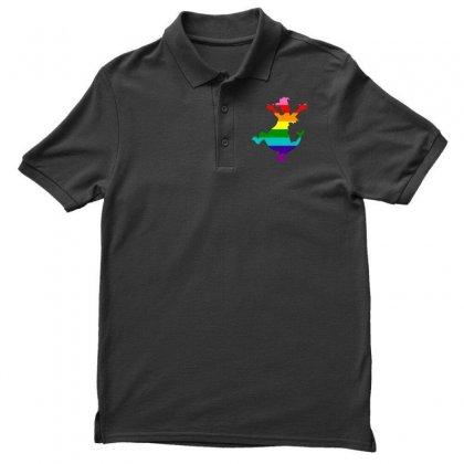 Imagine Pride Men's Polo Shirt Designed By Meganphoebe