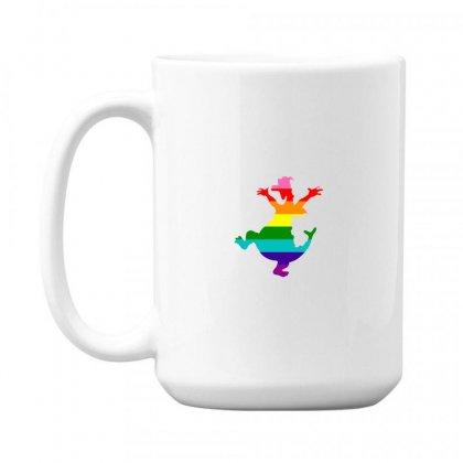 Imagine Pride 15 Oz Coffe Mug Designed By Meganphoebe