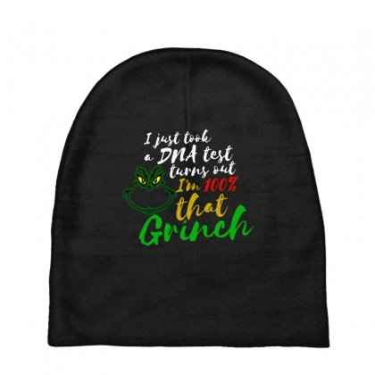 I Just Took A Dna Test Turns Out I'm 100% That Grinch Baby Beanies Designed By Meganphoebe