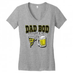 pizza beer equals dad bod Women's V-Neck T-Shirt | Artistshot