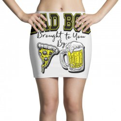 pizza beer equals dad bod Mini Skirts | Artistshot