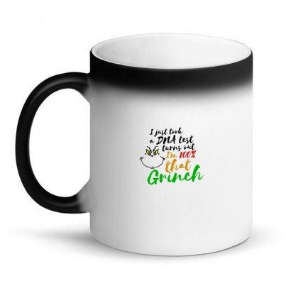 I Just Took A Dna Test Turns Out    I'm 100% That Grinch Magic Mug Designed By Meganphoebe