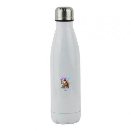 Forever Jesus Stainless Steel Water Bottle Designed By Meganphoebe