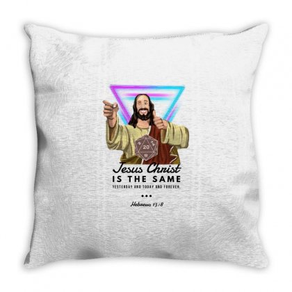 Forever Jesus Throw Pillow Designed By Meganphoebe