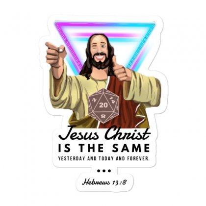 Forever Jesus Sticker Designed By Meganphoebe