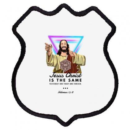 Forever Jesus Shield Patch Designed By Meganphoebe