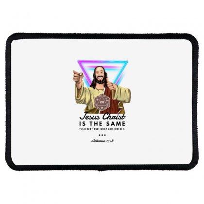 Forever Jesus Rectangle Patch Designed By Meganphoebe