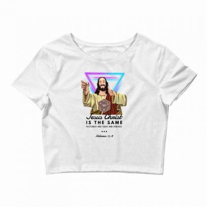Forever Jesus Crop Top Designed By Meganphoebe