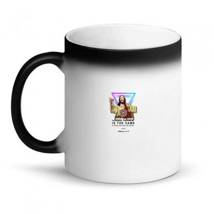 Forever Jesus Magic Mug Designed By Meganphoebe