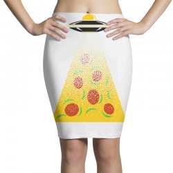 pizza signal Pencil Skirts | Artistshot