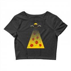 pizza signal Crop Top | Artistshot