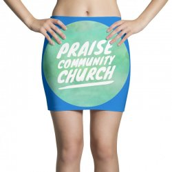 praise community church Mini Skirts | Artistshot