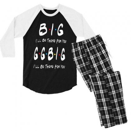 Ggbig Matching Sorority Men's 3/4 Sleeve Pajama Set Designed By Meganphoebe