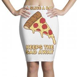 pizza slice Pencil Skirts   Artistshot