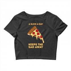 pizza slice Crop Top   Artistshot