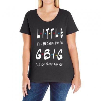 Ggbig Matching Sorority Ladies Curvy T-shirt Designed By Meganphoebe