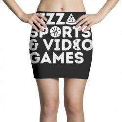 pizza, sports and video games Mini Skirts | Artistshot