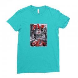 akira kaneda Ladies Fitted T-Shirt   Artistshot