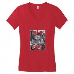 akira kaneda Women's V-Neck T-Shirt   Artistshot