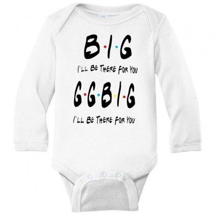 Ggbig Matching Sorority Long Sleeve Baby Bodysuit Designed By Meganphoebe
