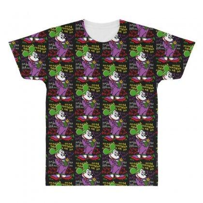 Funny Mr Mouse Ha Ha Ha All Over Men's T-shirt Designed By Meganphoebe