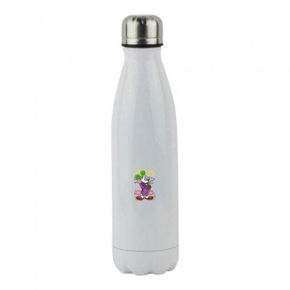 Funny Mr Mouse Ha Ha Ha Stainless Steel Water Bottle Designed By Meganphoebe