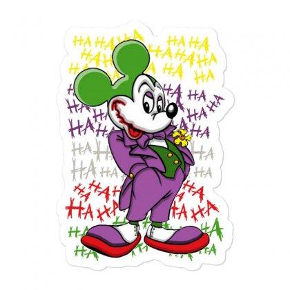 Funny Mr Mouse Ha Ha Ha Sticker Designed By Meganphoebe