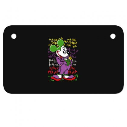 Funny Mr Mouse Ha Ha Ha Motorcycle License Plate Designed By Meganphoebe