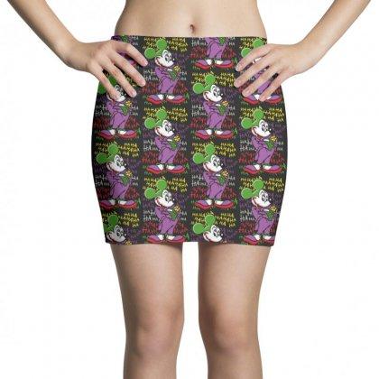 Funny Mr Mouse Ha Ha Ha Mini Skirts Designed By Meganphoebe