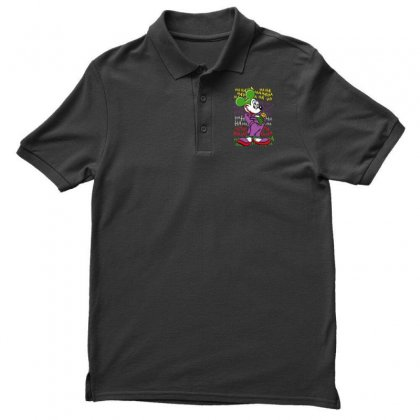 Funny Mr Mouse Ha Ha Ha Men's Polo Shirt Designed By Meganphoebe