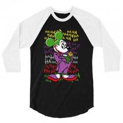 funny mr mouse ha ha ha 3/4 Sleeve Shirt   Artistshot