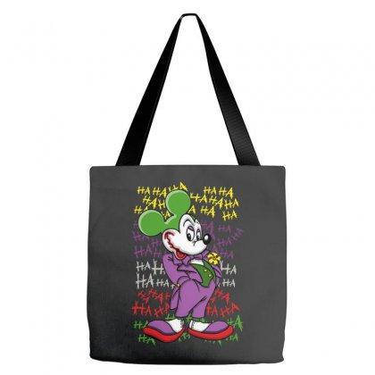 Funny Mr Mouse Ha Ha Ha Tote Bags Designed By Meganphoebe